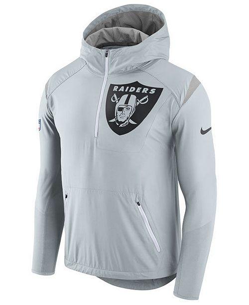 timeless design 269f7 3eb54 Nike Men's Oakland Raiders Lightweight Fly Rush Jacket ...