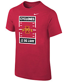 Nike Iowa State Cyclones Just Do It Football T-Shirt, Big Boys (8-20)