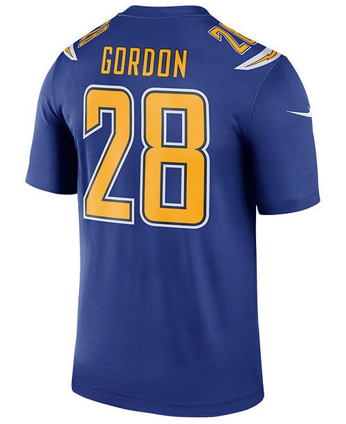 54cc1ab0 ... Nike Men's Melvin Gordon Los Angeles Chargers Legend Color Rush Jersey  ...
