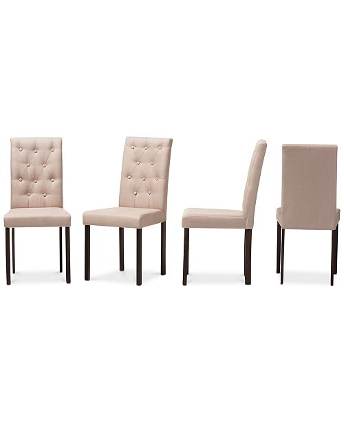 Furniture Hynson Dining Chair (Set Of 4), Quick Ship