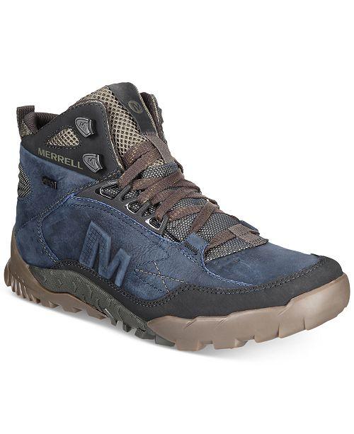 efd744e04c2 Merrell Men's Annex Trak Mid Boots & Reviews - All Men's Shoes - Men ...