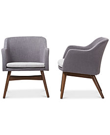 Sheely Lounge Chair (Set Of 2), Quick Ship