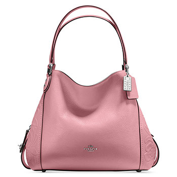 Coach Edie Glovetanned Leather Shoulder Bag