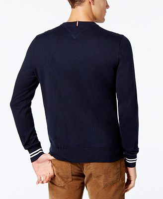Tommy Hilfiger Mens Cheers Crewneck Sweater Created For Macys