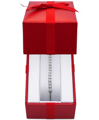 Wrapped™ Diamond Slider Bolo Bracelet 1 2 ct t w in Sterling