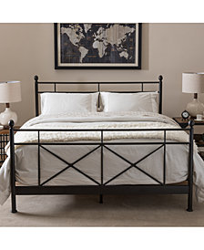 Camena Metal Bed Collection, Quick Ship