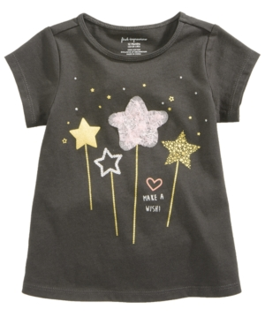 First Impressions WandsPrint TShirt Baby Girls (024 months) Created for Macys