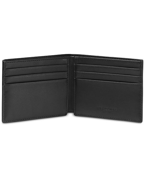 13a3b681a31e Michael Kors Men's Slim RFID Bifold Wallet & Reviews - All ...