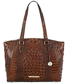 Brahmin Emerson Melbourne Embossed Leather Tote
