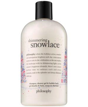 philosophy Shimmering Snowlace Shampoo, Shower Gel & Bubble Bath 5164904
