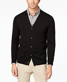 Men's Knit V-Neck Cardigan, Created for Macy's