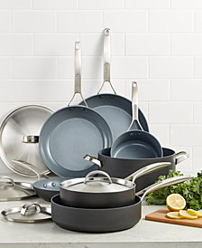 GreenPan Paris Pro 11-Pc. Ceramic Non-Stick Cookware Set