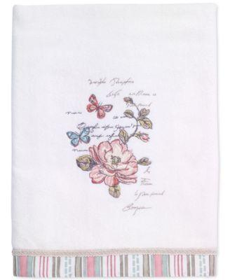 Butterfly Garden Bath Towel