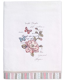 Butterfly Garden Bath Towel
