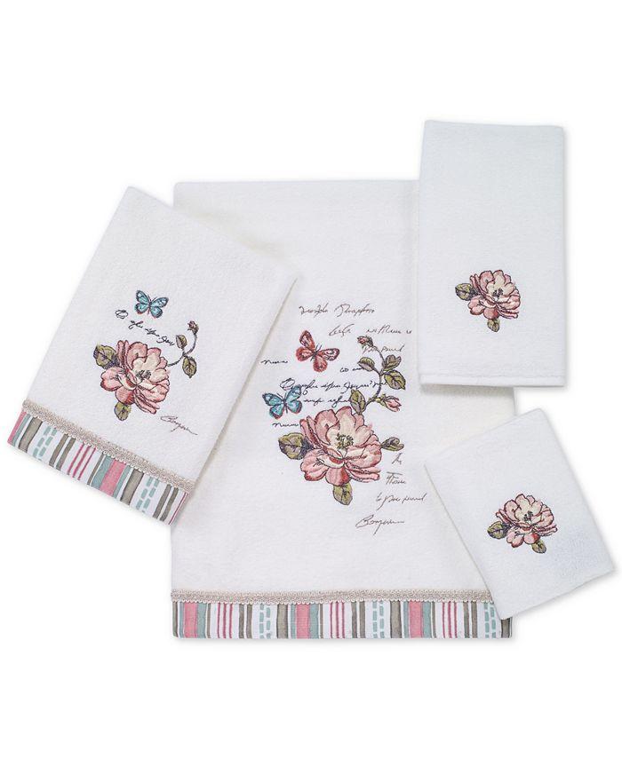 Avanti - Butterfly Garden Bath Towel Collection