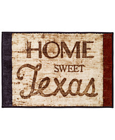 Avanti Home Sweet Home Texas Bath Rug
