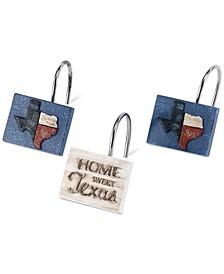Home Sweet Texas 12-Pc. Shower Hook Set