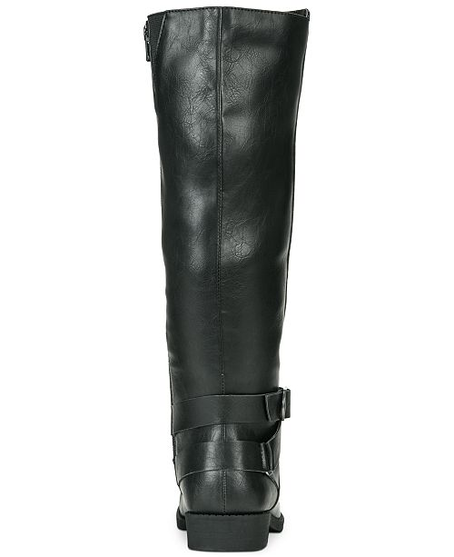 31835adeecf ... Style   Co Madixe Wide-Calf Riding Boots