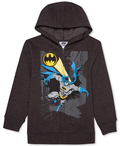 DC Comics® Batman-Print Sound Hoodie, Big Boys