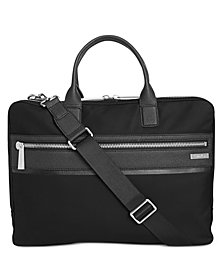 Calvin Klein Men's Twill Attache Messenger Bag