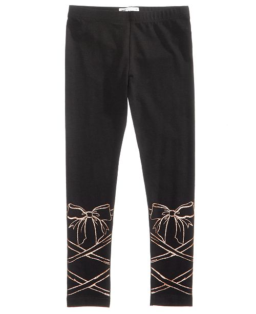Epic Threads Mix and Match Ballet Lace-Print Leggings, Toddler Girls, Created for Macy's