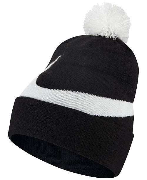 2e41a76b Nike Men's Exploded Swoosh Pom Pom Beanie & Reviews - Hats, Gloves ...