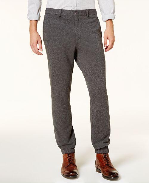 9e6f9bc4ea Calvin Klein Men s Slim-Fit Knit Jogger Pants   Reviews - Pants ...