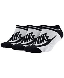 Nike Sportswear 3-Pk. Cotton No-Show Socks