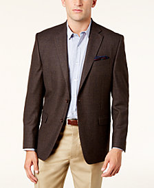 Lauren Ralph Lauren Men's Classic-Fit Brown & Blue Hou