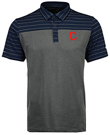 Columbia Men's Cleveland Indians Omni-Wick Groove Polo