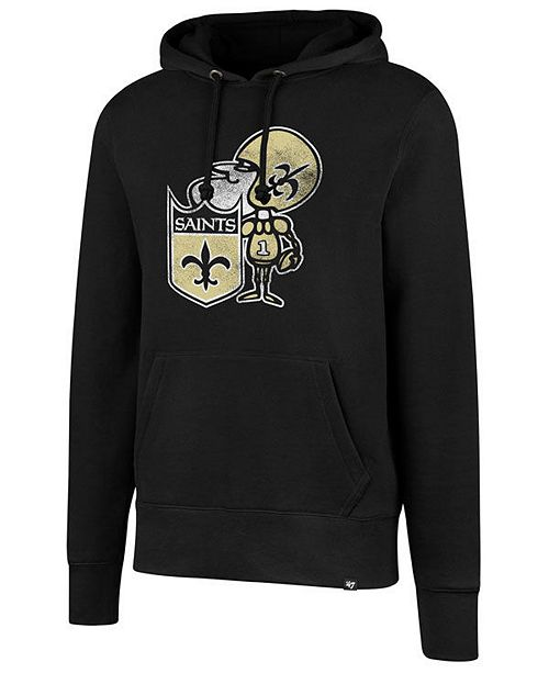 wholesale dealer ee6a2 9e567 Men's New Orleans Saints Retro Knockaround Hoodie
