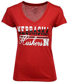 Colosseum Women's Nebraska Cornhuskers PowerPlay T-Shirt