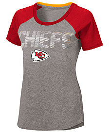 Touch by Alyssa Milano Women's Kansas City Chiefs Conference T-Shirt