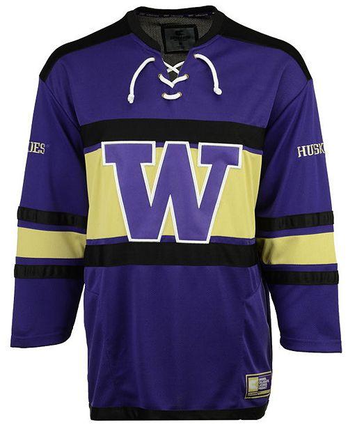 ... Colosseum Men s Washington Huskies Open Net II Hockey Jersey ... 738e2a29e