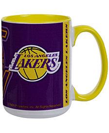 Los Angeles Lakers 15oz Super Fan Inner Color Mug