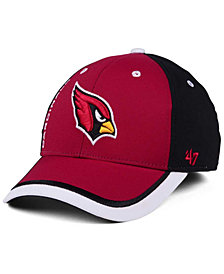 '47 Brand Arizona Cardinals Crash Line Contender Flex Cap