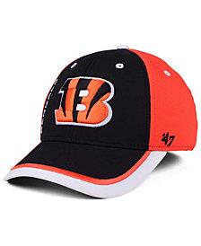 '47 Brand Cincinnati Bengals Crash Line Contender Flex Cap