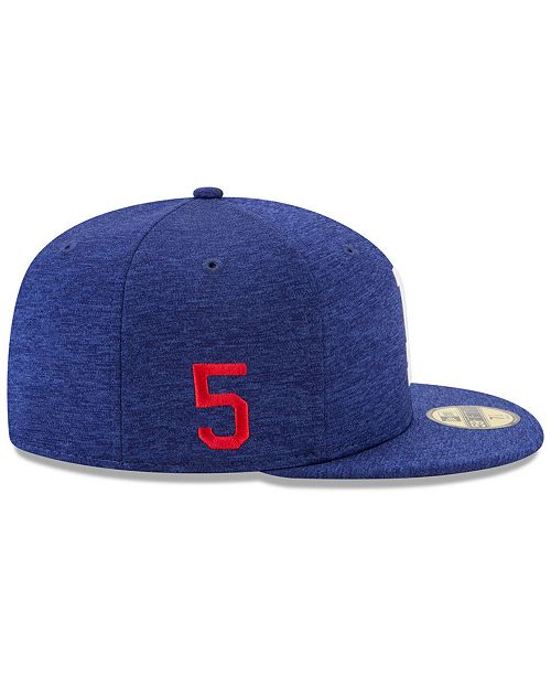 8ef76c417c9 New Era Corey Seager Los Angeles Dodgers Player Designed Collection 59FIFTY  Fitted Cap ...