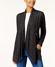 Style & Co Single-Button Knit Cardigan, Created for Macy's