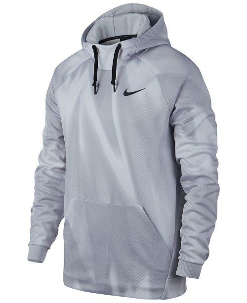 6ec0a9296de6 Nike Men s Therma Printed Training Hoodie   Reviews - Hoodies ...