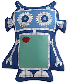 "Laura Hart Kids Roboto Printed 15"" x 20"" Decorative Pillow"