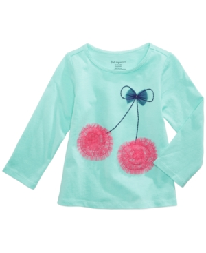 First Impressions Cherries LongSleeve TShirt Baby Girls (024 months) Created for Macys