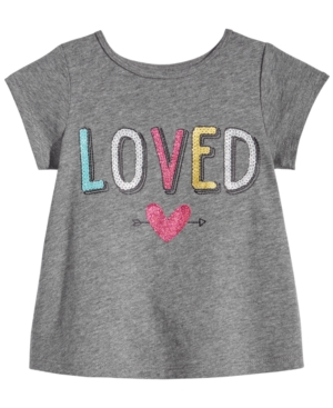 First Impressions Loved Cotton TShirt Baby Girls (024 months) Created for Macys