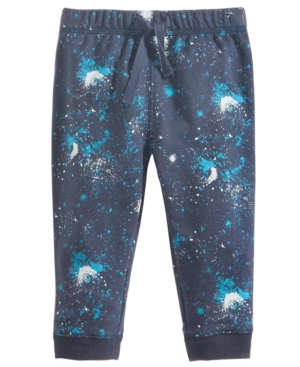 First Impressions PullOn GalaxyPrint Jogger Pants Baby Boys (024 months) Created for Macys