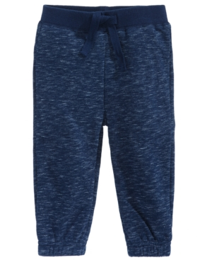 First Impressions Marled Jogger Pants Baby Boys Created for Macys