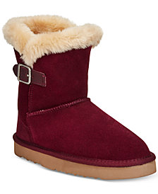 Style & Co Tiny 2 Cold Weather Booties, Created for Macy's