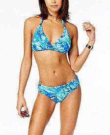 Lauren Ralph Lauren Halter Bikini Top & Hipster Bottoms