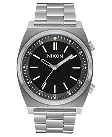 Nixon Men's Brigade Stainless Steel Bracelet Watch 23mm