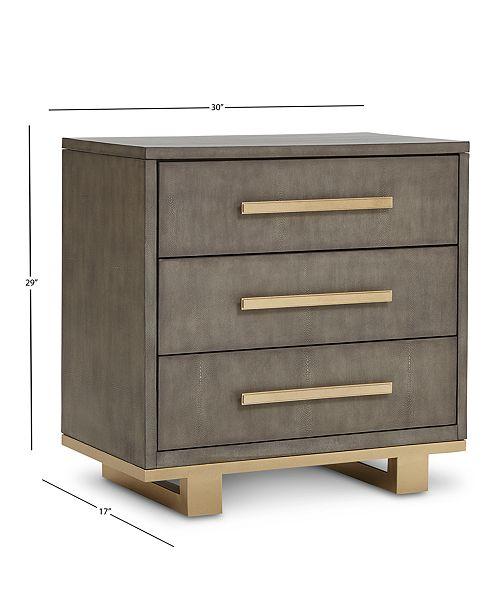Petra Reen Bedroom Furniture 3 Pc Set King Bed Dresser Nightstand