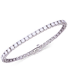Certified Diamond Tennis Bracelet (6 ct. t.w.) in 14k White Gold